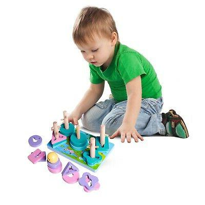 Eliiti Stacking Sorting Puzzle for 2 Old