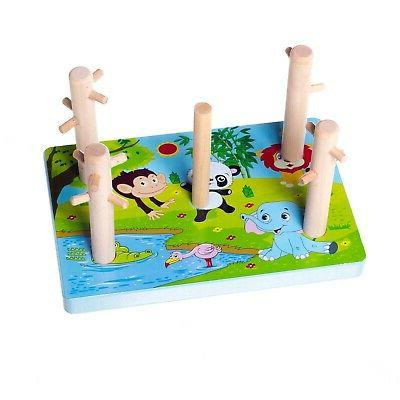 Eliiti Stacking Toy Sorting 2 to 4 Old Animals
