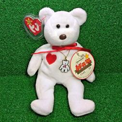 Limited Edition Ty Beanie Baby Valentino The Bear Toys For T