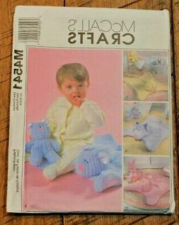 McCall's 4541 Infants Cuddle Mats & Toys  Sewing Pattern