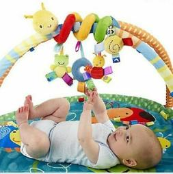 Newborn Baby Pram Bed Bells Soft Hanging Toys Animal Handbel