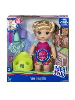 Baby Alive Potty Dance Baby: Talking Baby Doll with Blonde H