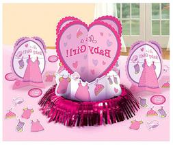 Shower With Love Baby Girl Table Decorating Kit