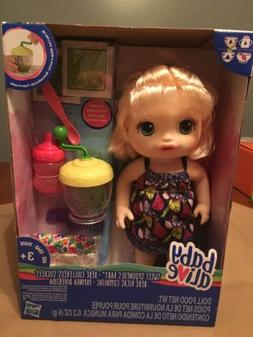Baby Alive Sweet Spoonfuls Baby Doll Girl- Blonde Hair Eats