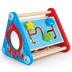 Hape Take Along Wooden Baby Toddler Activity Skill Learning