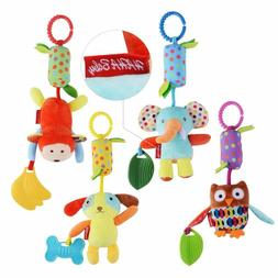 Haha Baby Toys For 0 3 6 9 To 12 Months, Soft Hanging Crinkl