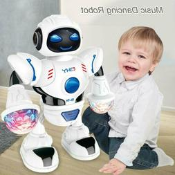 Toys for Boys Electric Walking Robot LED Lights Musical Cool