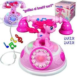Toys for Girls Age 2 3 4 5 6 7 8 Year Old Kids Phone Light U